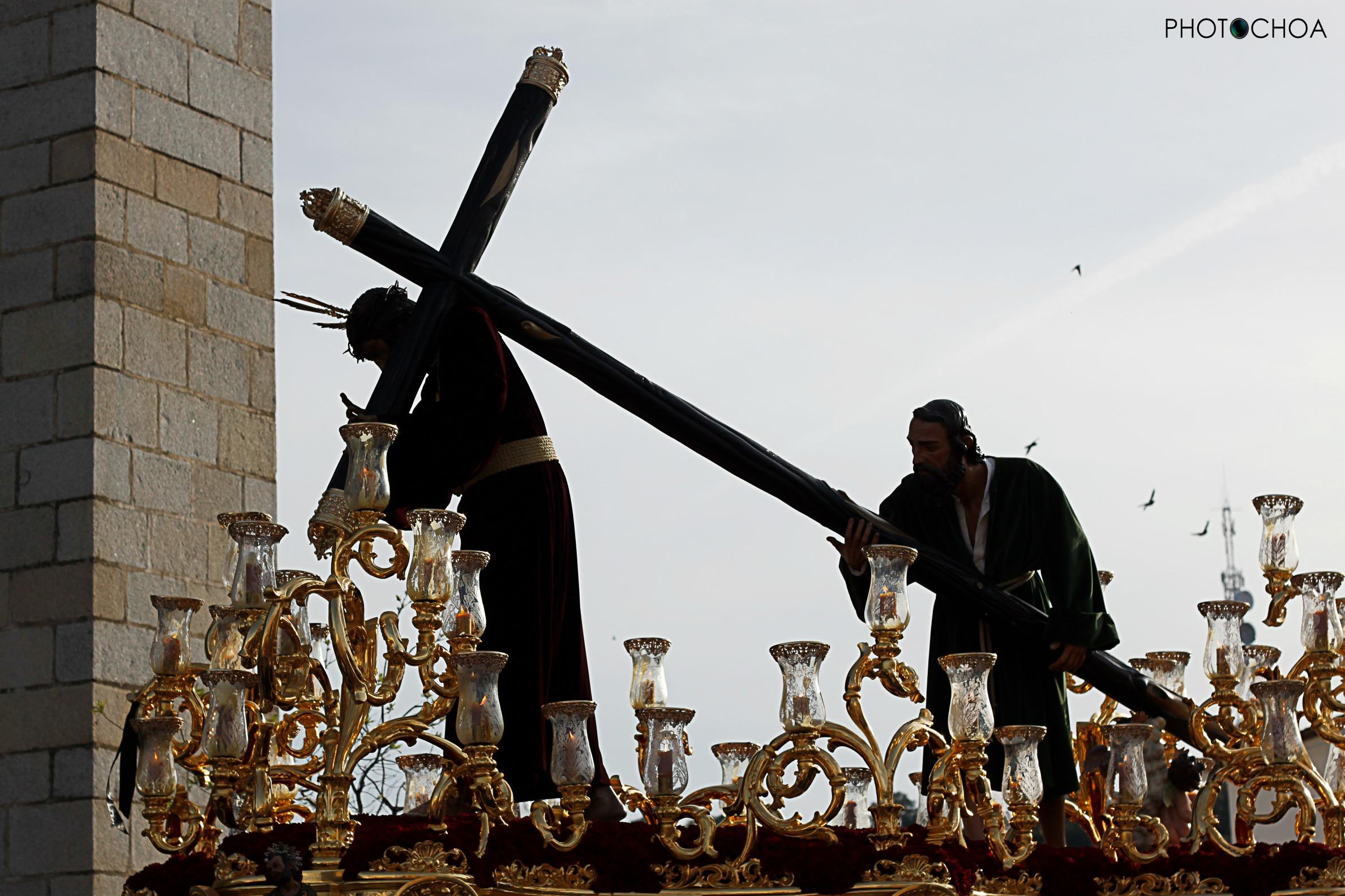 Nuestro Padre Jesús Nazareno a su regreso a la Parroquia