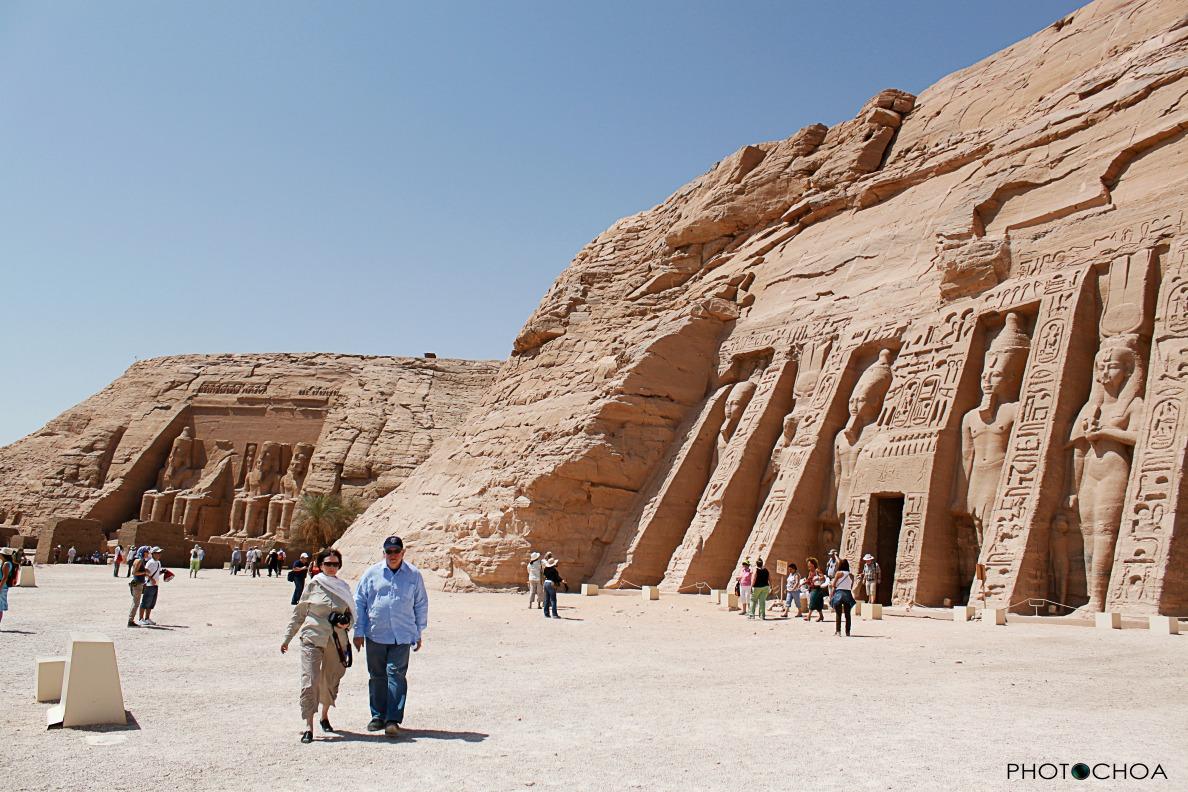 Templo dedicado a Nefertari, esposa de Ramsés II en Abu Simbel