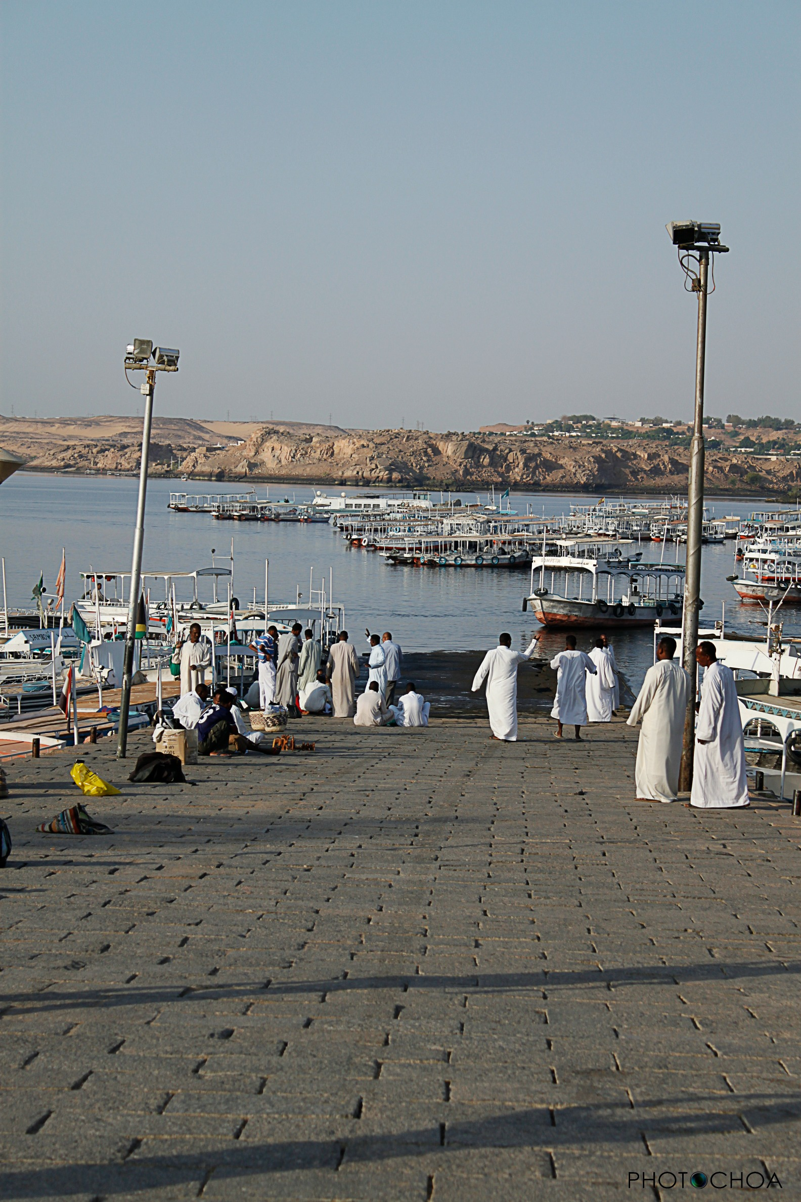 Embarcadero de Aswan