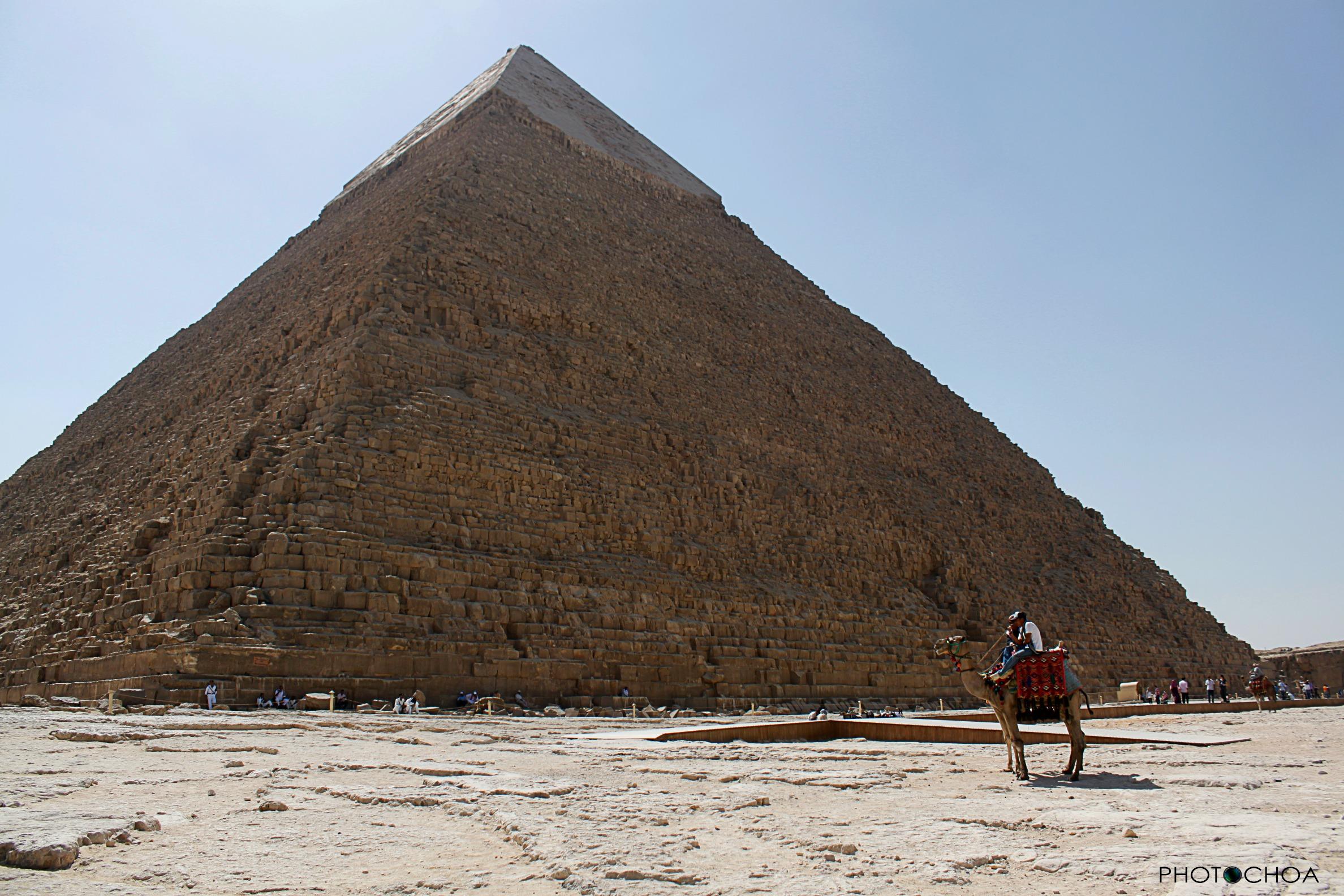 Keops, la mayor pirámide de Guiza
