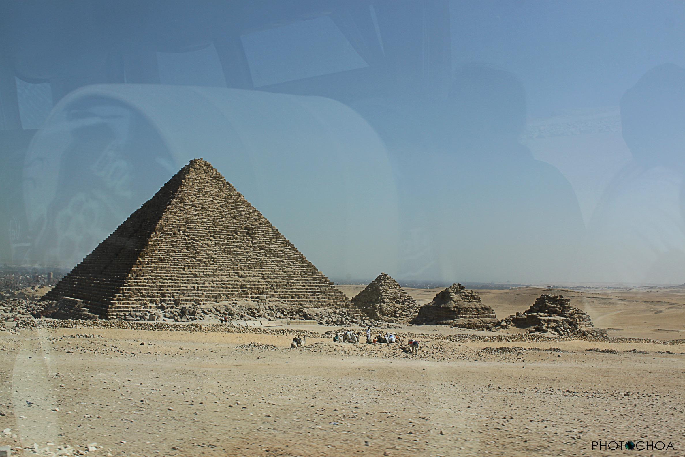 Micerinos, la pirámide menor de Guiza des