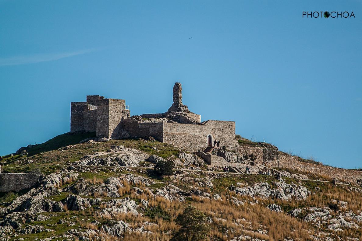 Castillo de Aracena. Enero de 2016