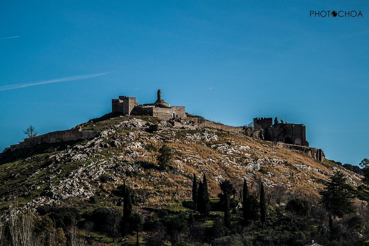 Castillo de Aracena . Enero de 2016